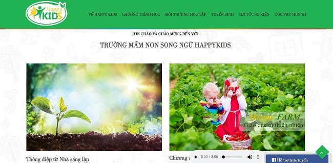 Thiết kế website giáo dục-trường học