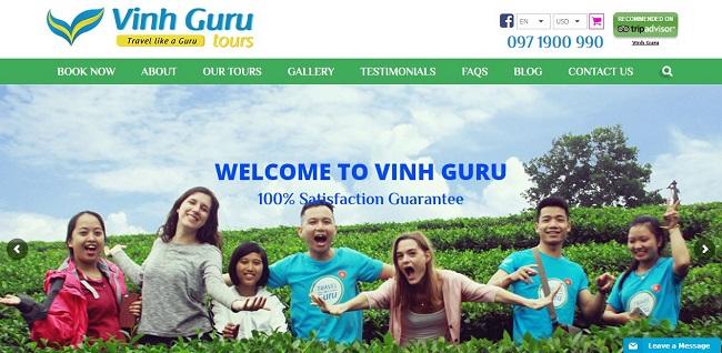 Thiết kế website du lịch - Redsand
