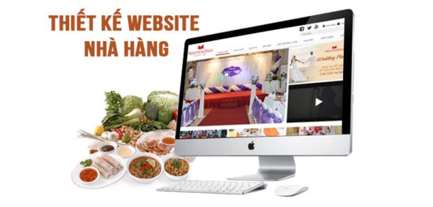 Thiết kế website nhà hàng giải pháp kinh doanh hiệu quả tuyệt vời