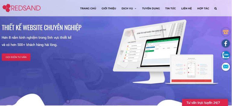 Tại sao nói REDSAND là lựa chọn hàng đầu về thiết kế website tại Nghệ An?