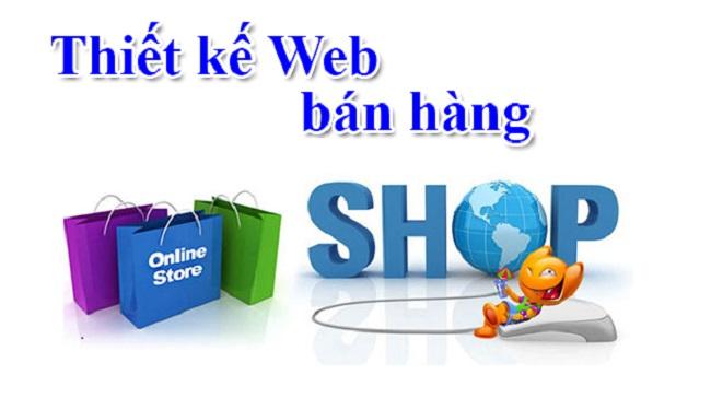 Thiết kế website bán hàng tại Vinh