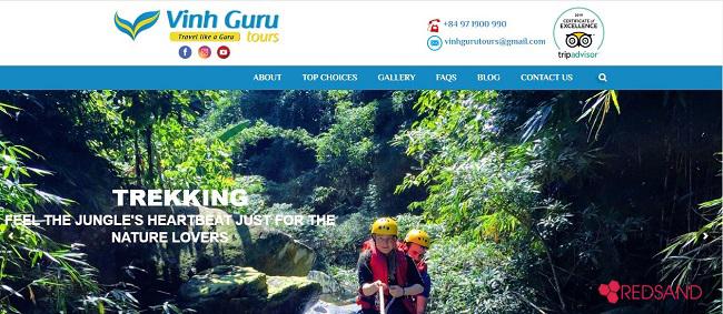 Kinh nghiệm vàng lựa chọn đơn vị thiết kế website du lịch tại Vinh