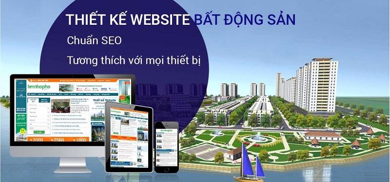 Tiêu chí đánh giá dịch vụ thiết kế website bất động sản tại Vinh