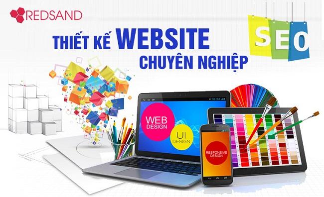Thiết kế website chuyên nghiệp tại Vinh | REDSAND